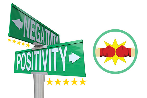 Positive reviews fight against the negative ones